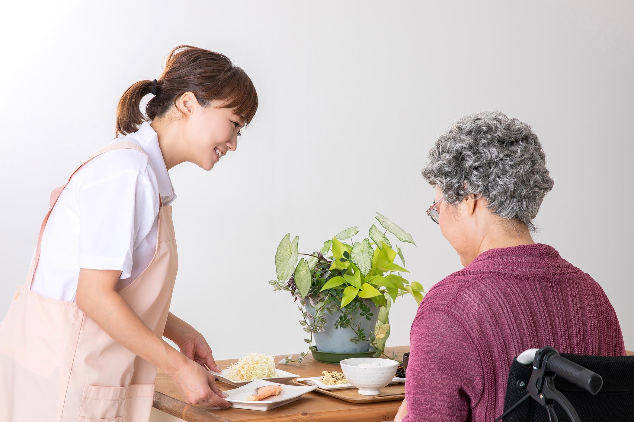 訪問介護生活